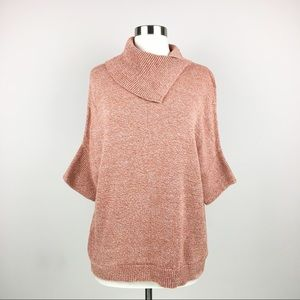 CAbi 3011 Split Cowl Neck Dolman Sweater XS
